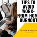 Avoid Work From Home Burnout Photo