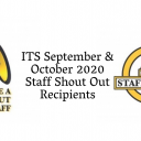 Sept Oct Staff Shout Outs