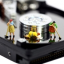 Cleaning a Computer Hard Disk Image