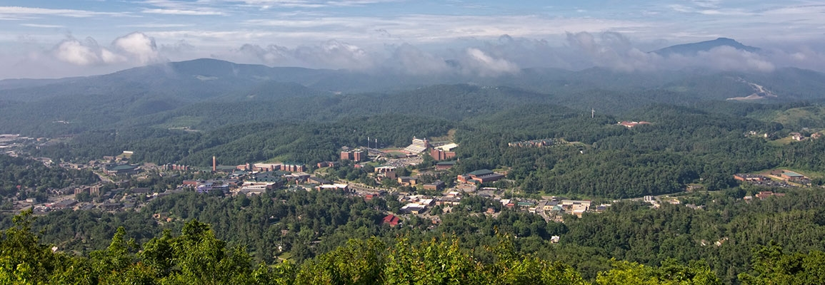 ASU campus aerial view